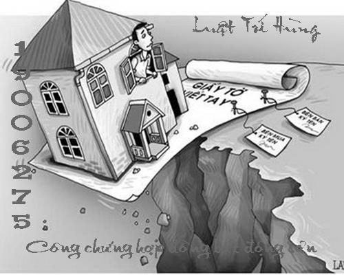công chứng hợp đồng tặng cho bất động sản